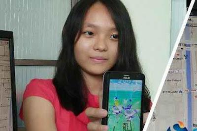 Hebatnya Aplikasi  Pokemon Spy Buatan Mahasiswi Asal Indonesia