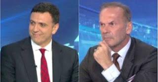 Ταυτόχρονα στο πλατό του ΑΝΤ1 ο Πέτρος Κωστόπουλος και ο Βασίλης Κικίλιας