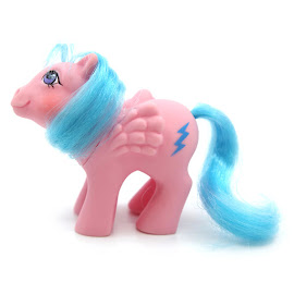 MLP Baby Flammenflitzer Year Three German Play and Care G1 Pony