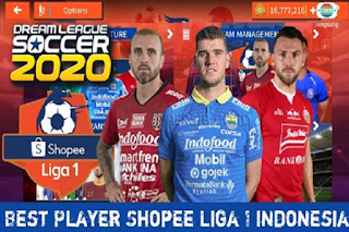 DLS 2020 Mod Shopee Liga 1 Indonesia 2020/21