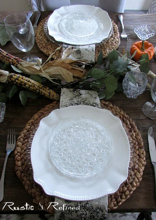 simple inexpensive fall table decorations