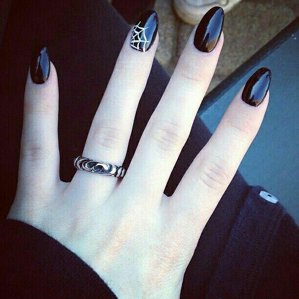 Halloween nail arts desgin