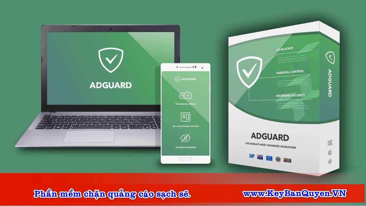 Download Adguard mới nhất Full Key , Phần mềm chặn quảng cáo đỉnh cao.