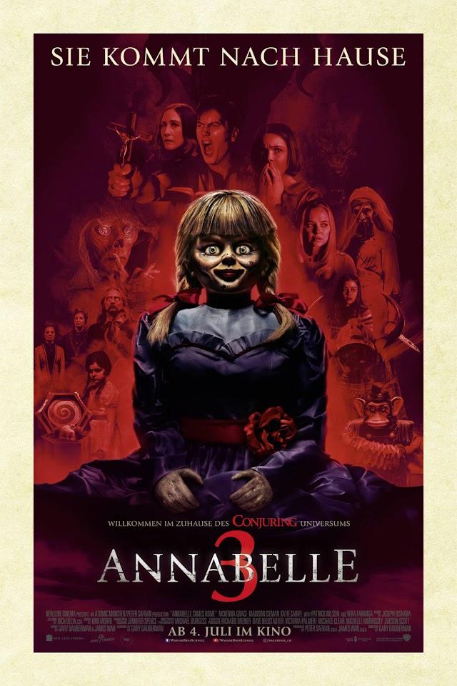 Annabelle 3 – De Volta Para Casa – 2019 Legendado / Dublado  720p  – Baixar