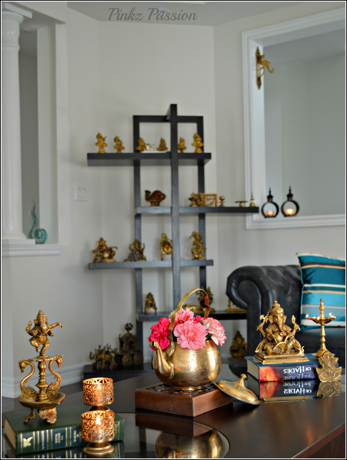 Pinkz passion passion of collection for Drawing room decoration ideas india