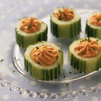 Holiday Cucumber Cups Recipe