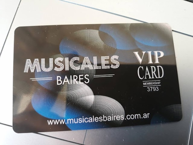 Tarjeta VIP de Beneficios Musicales BAires