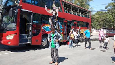 Sensasi Menikmati Kota Solo dengan Bus Tingkat Werkudara