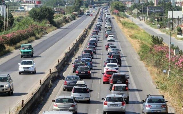 Χωρίς ιδιαίτερα προβλήματα η κίνηση προς Χαλκιδική