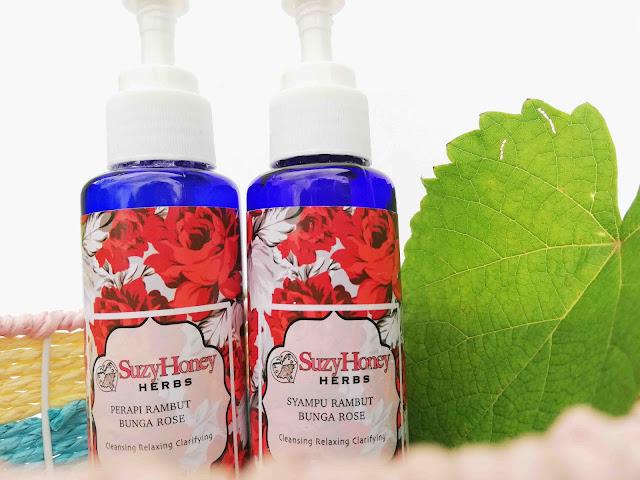 Suzy Honey Herbs Buat Rambut Saya Sihat Dan Badan Terasa Segar
