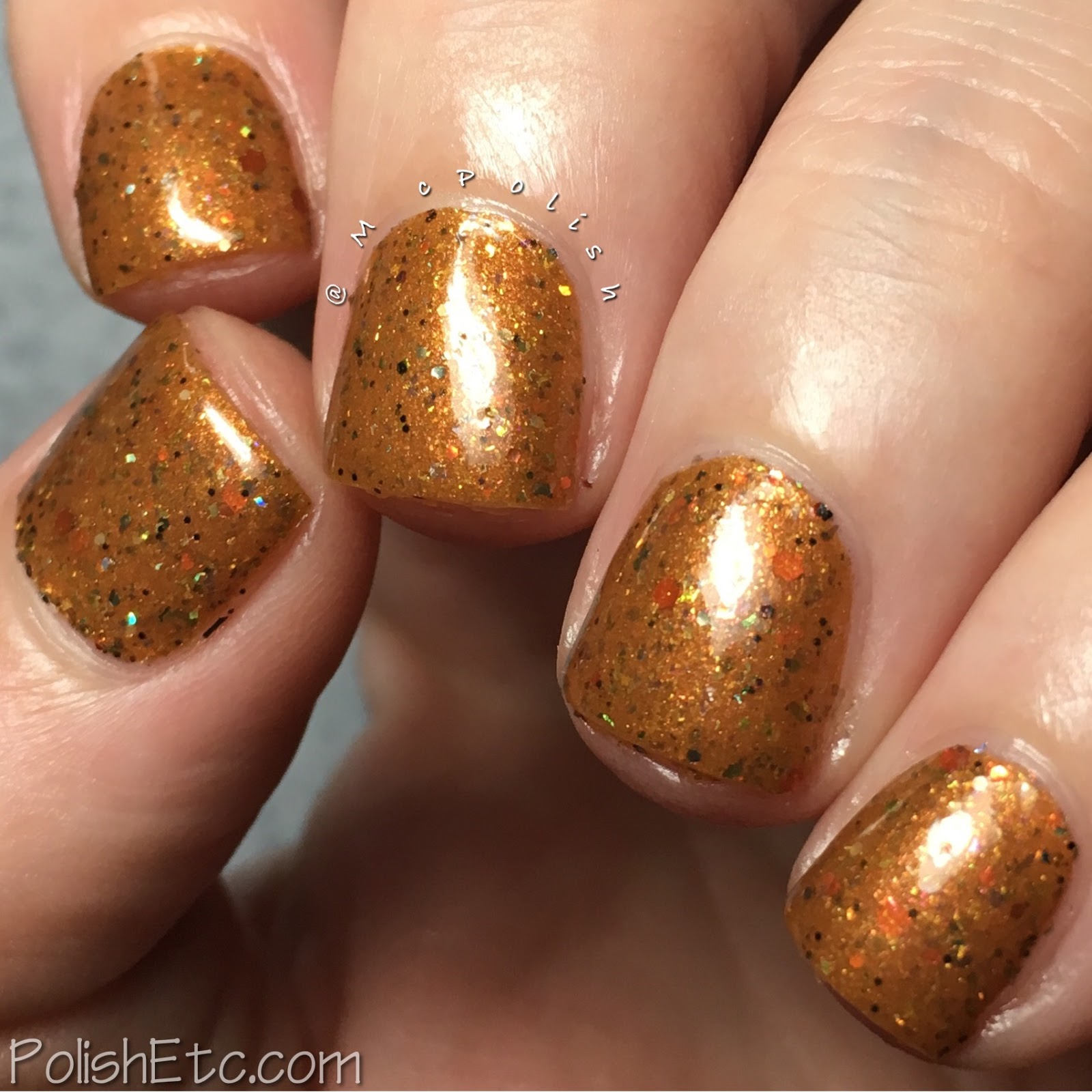 Road to Polish Con - Week 2 - McPolish - Big Big Big Day by Fanchromatic Nails