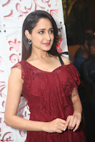 Pragya Jaiswal in Stunnign Deep neck Designer Maroon Dress at Nakshatram music launch ~ CelebesNext Celebrities Galleries 092.JPG
