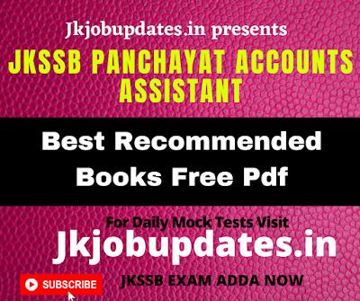Jkssb Account Assistant book pdf