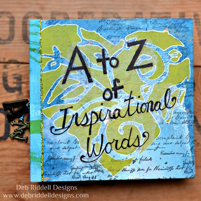 A To Z Of Inspirational Words Mixed Media Art Journal