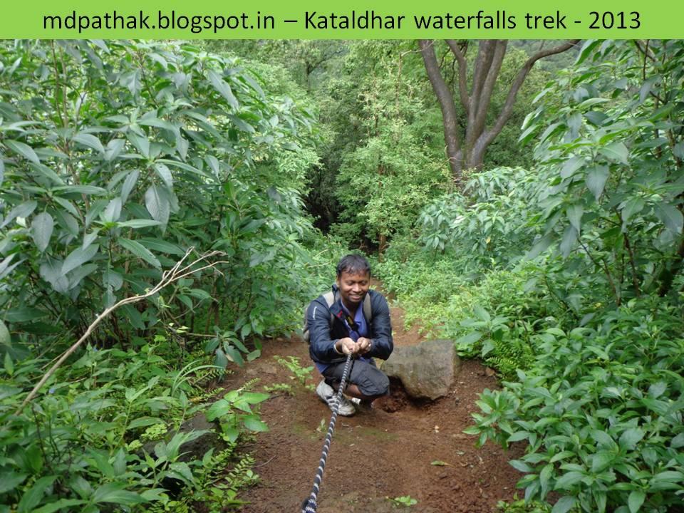 using rope to kataldhar climbing