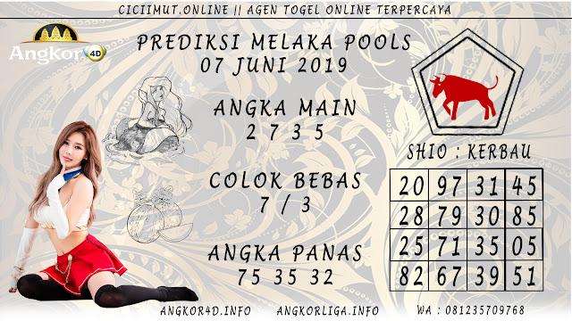 PREDIKSI MELAKA POOLS 07 JUNI 2019