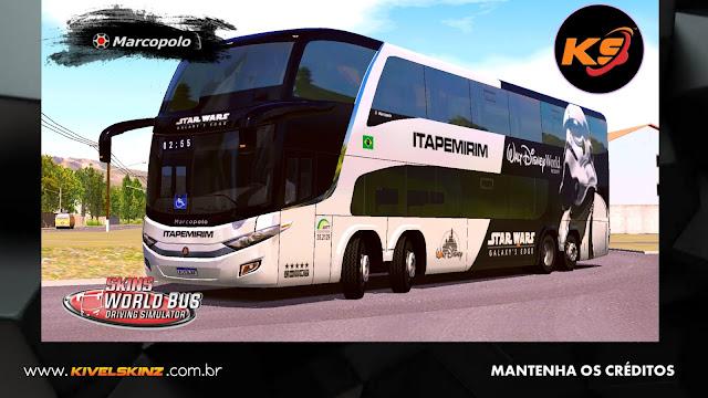 PARADISO G7 1800 DD 8X2 - VIAÇÃO ITAPEMIRIM (FICTÍCIA)