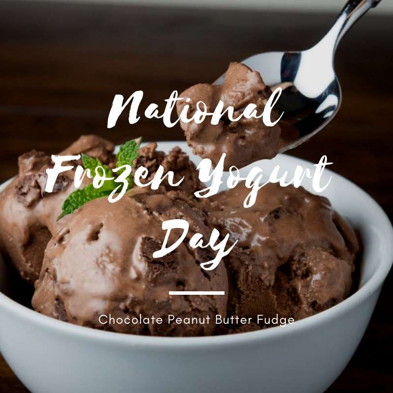 National Frozen Yogurt Day Wishes Awesome Picture