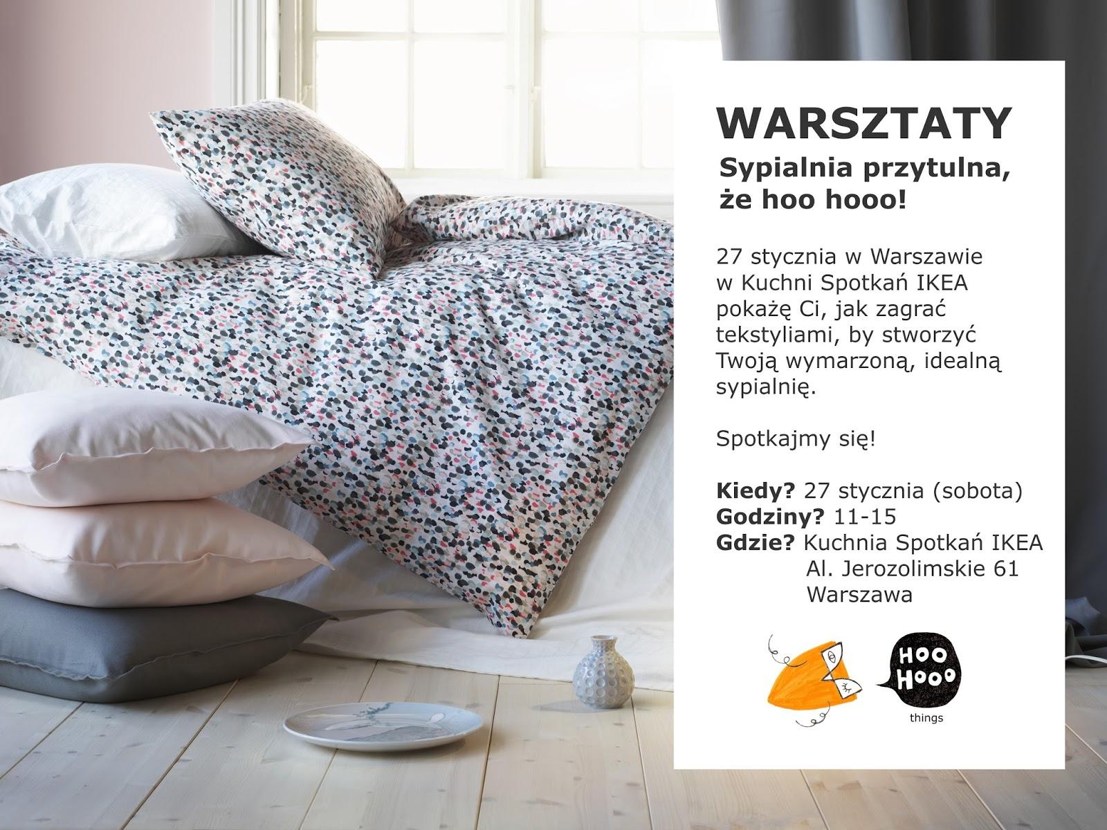 Tekstylia W Sypialni Zaproszenie Na Warsztaty W Kuchni