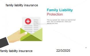 family liability insurance