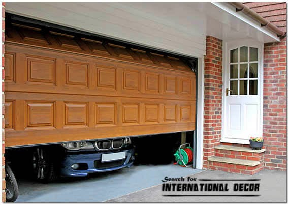 Gate designs, automatic sectional door for garage