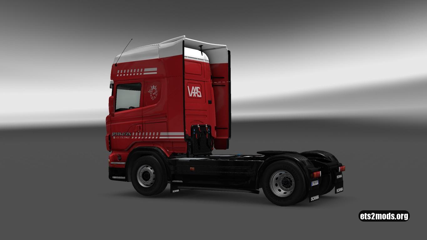 Scania RJL JP VIS&ZN Skin