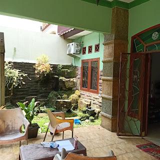 Halaman Depan Rumah Murah Bonus AC, Gordyn, Water Heater Di Karya Wisata Ujung Medan Johor