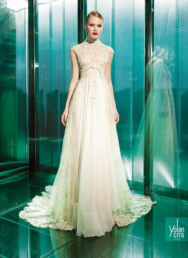 abiti da sposa 2015 YolanCris Vintage Couture e matrimoni a tema