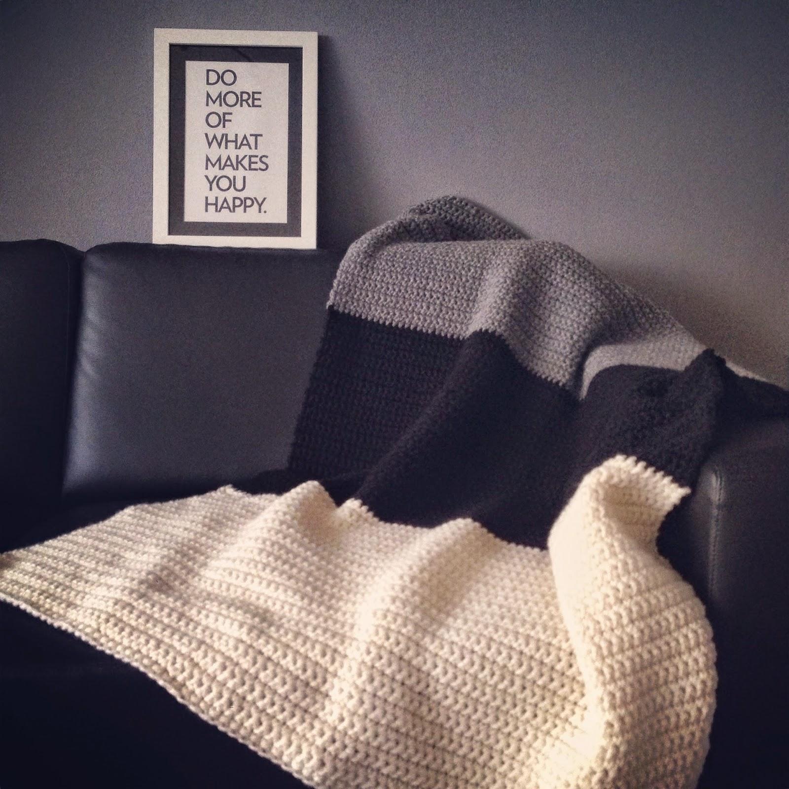 Angels Handmade Chunky Blanket