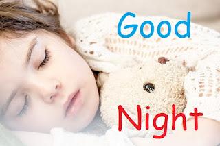 good night cute angel images