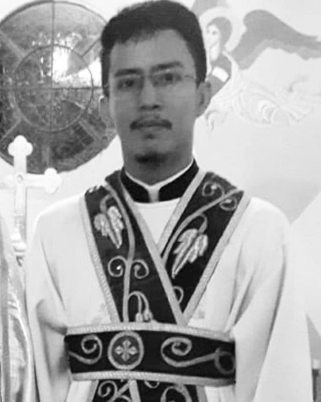 NOTA DE PESAR: Diácono Jefferson Fernandes, do Pará.