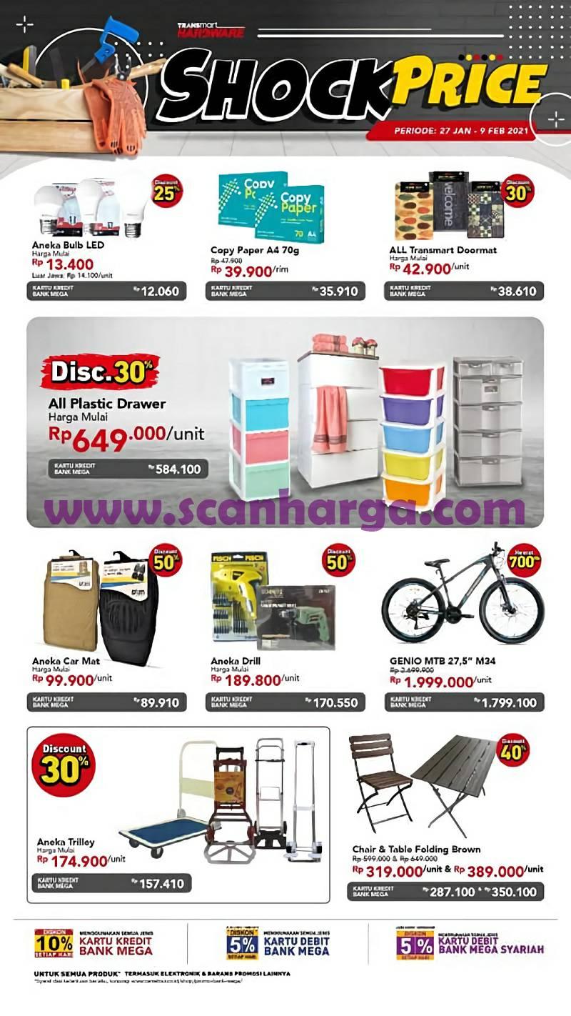 Carrefour Transmart Katalog Promo TRANSHARDWARE SHOCK PRICE