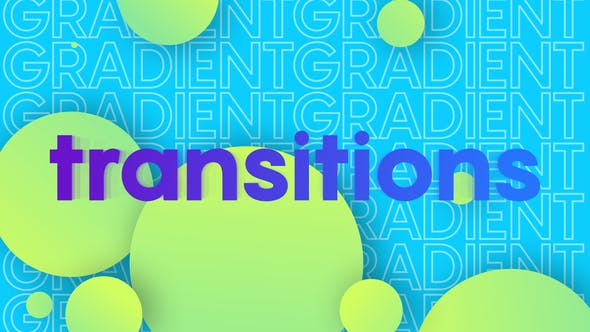 Colorful Gradient Transition[Videohive][After Effects][27405281]