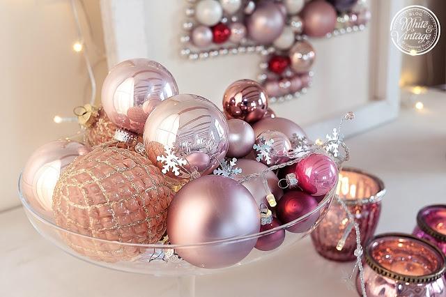 Weihnachtsdeko-Ideen mit Weihnachtskugeln