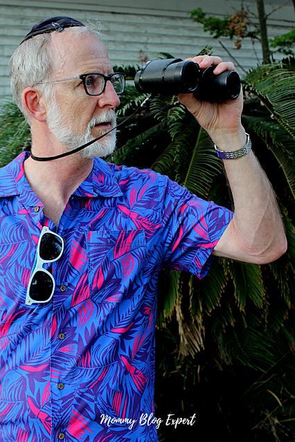 Modern Hawaiian Mens Shirt