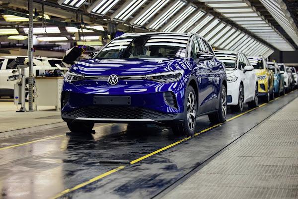 Ações da Volkswagen disparam mais de 16% com lucro recorde