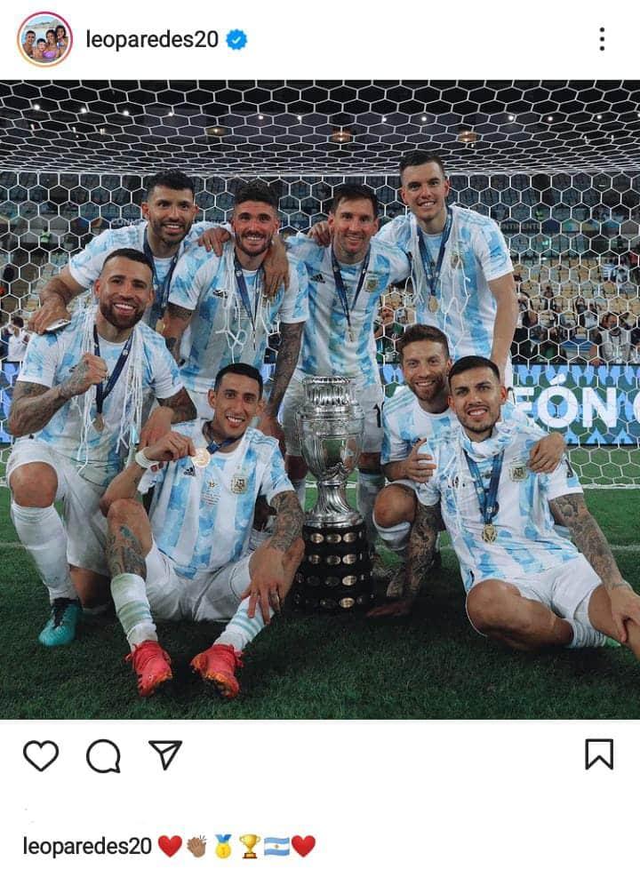 El divertido ida y vuelta en Instagram entre Messi y varios jugadores de la Selección Argentina