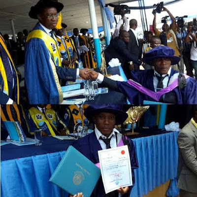Delta State Government offered automatic appoint letter to best graduating Student Ossaiugbo Ifeanyi Marcu