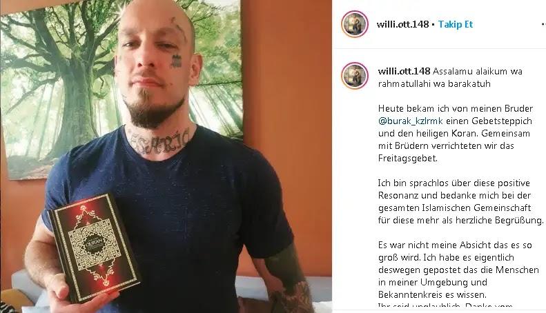 Setelah Mualaf, Pegulat MMA Austria Wilhelm Ott Ganti Nama Jadi Khalid