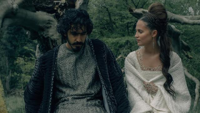 Dev Patel Alicia Vikander David Lowery | The Green Knight | A24 Films