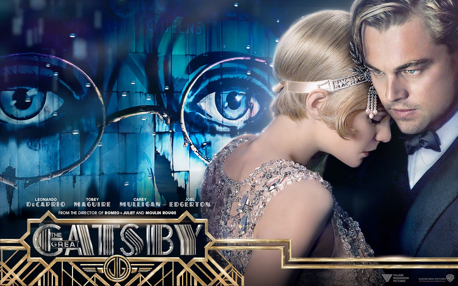 the great gatsby movie mystery wallpaper