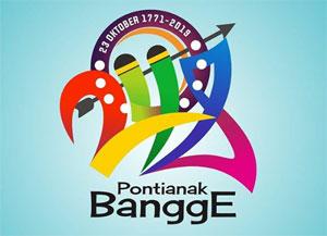 Logo HUT Kota Pontianak ke 248 Tahun - 23 Oktober 2019.