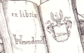 Detail Exlibris Otto Wesendonck