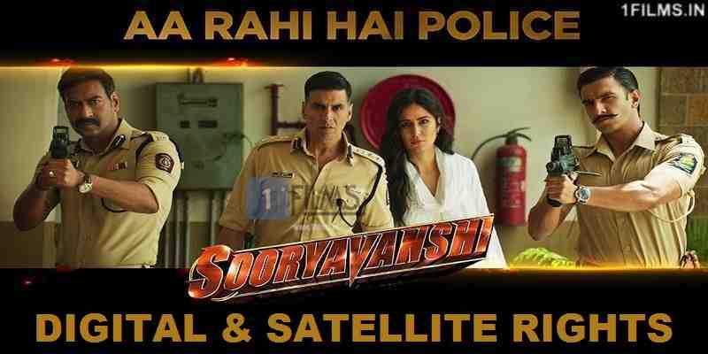 Sooryavanshi Digital Rights Poster