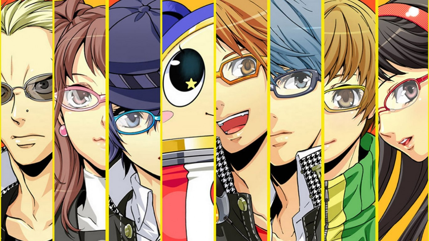 Featured Wallpaper Persona 4 Crew My Bubbletea Time