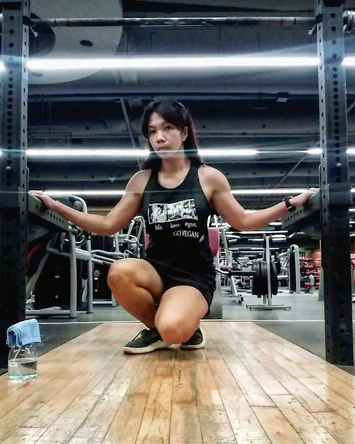 Stef dela Cruz vegan lifter