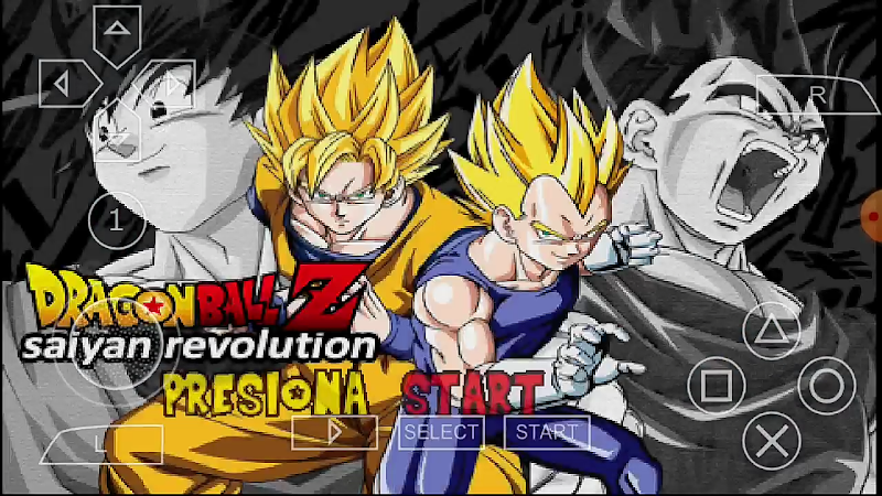 Android Game Dragon Ball Z Saiyan Evolution MOD PSP