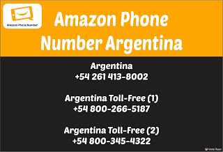 Amazon Phone Number Argentina