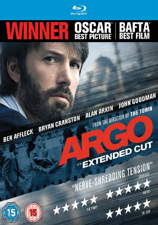 Argo 2012 BluRay 350MB Hindi Dual Audio 480p