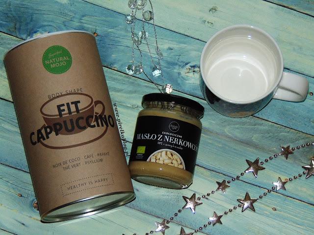 Natural Mojo, Fit Cappuccino, masło z nerkowców Foods by Ann
